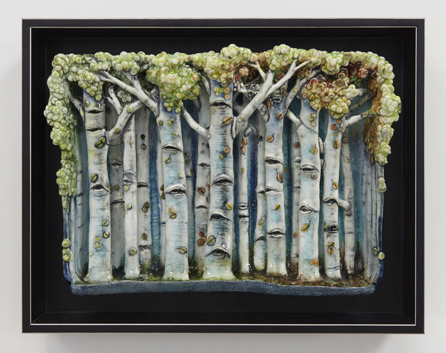 , 'Forest Wall Piece,' 2016, Jane Hartsook Gallery