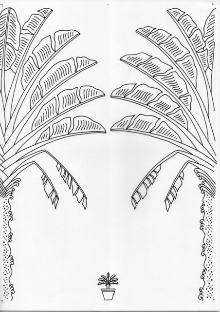 , 'Pygmy Traveller's Palm -inked drawings,' 2017, Chan + Hori Contemporary