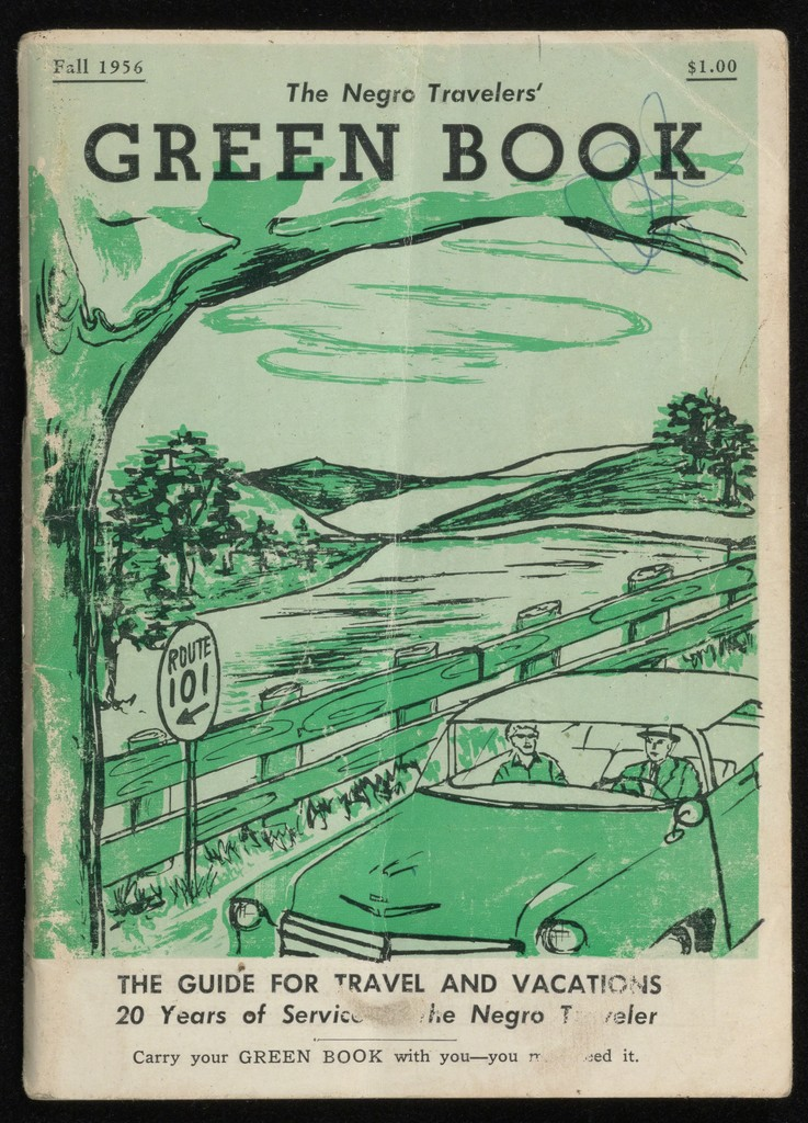 Cover of The Negro Motorist Green Book published by Victor H. Green, 1956
