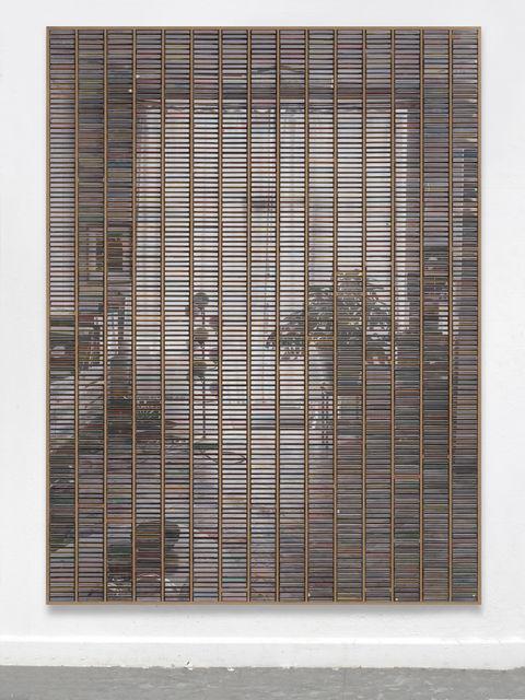 """Gregor Hildebrandt, '""""Wohnzimmer Blick zum Balkon""""', 2019, Almine Rech"""
