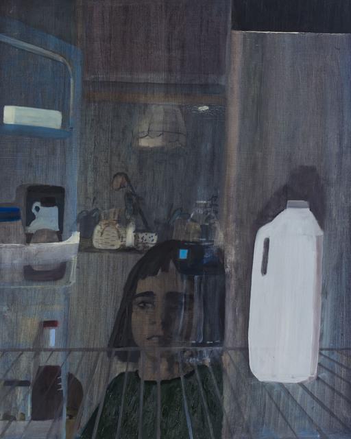 , 'Night Fridge (Milk),' 2019, Nancy Margolis Gallery