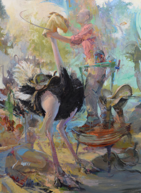 , 'Saddler,' 2018, Alpha Gallery