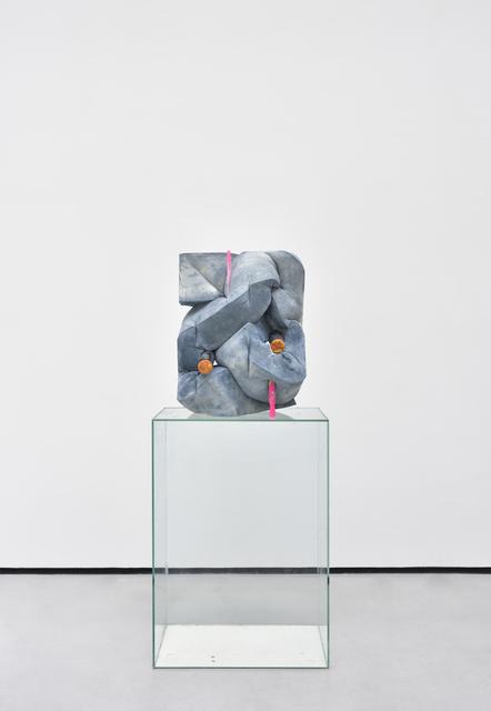 , 'Blue back,' 2016, Galerie Christophe Gaillard