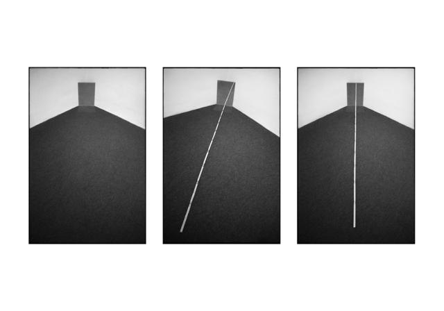 , 'Campo riflesso e trasparente, Trisorio 1979 (triptych),' 2018, MATÈRIA