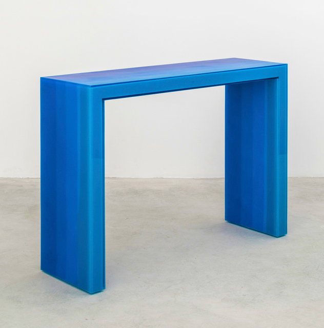 , 'Console, Gradient, Blue Resin,' 2017, VSOP Projects