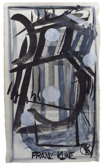 , 'Colonnade,' ca. 1945, Woodward Gallery