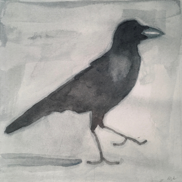 , 'Crow,' 2017, Clyde Hogan Fine Art