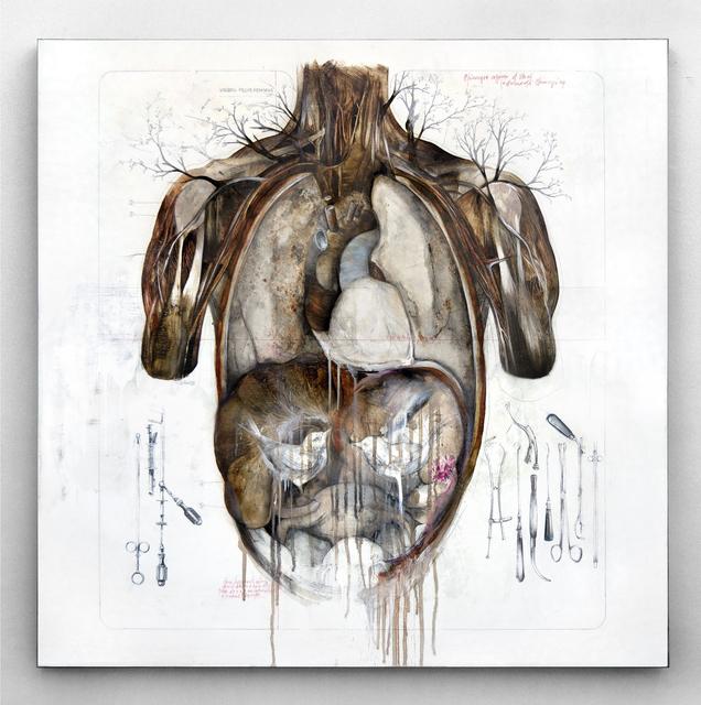 , 'Pregnant forest,' 2013, Officine dell'Immagine