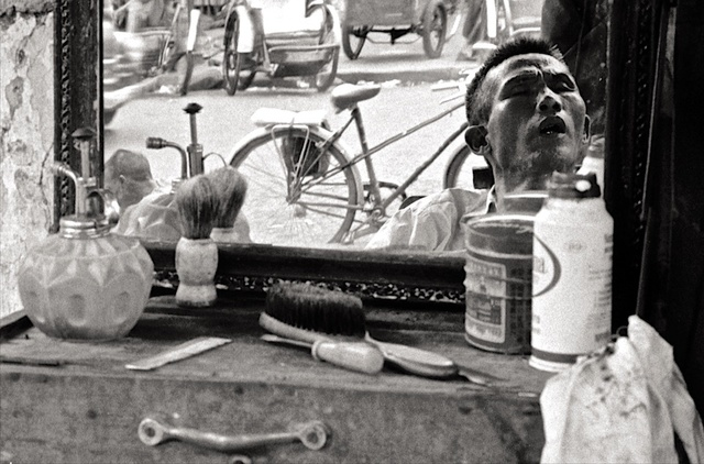, 'Sidewalk Barber #2 Saigon 1970,' , Soho Photo Gallery