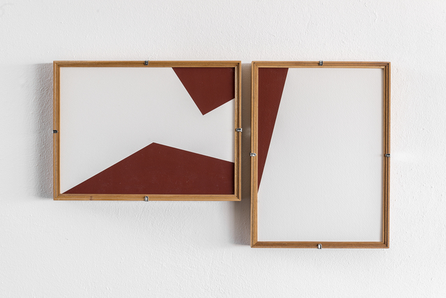 , 'Red Composition No.24,' 2018, Josée Bienvenu