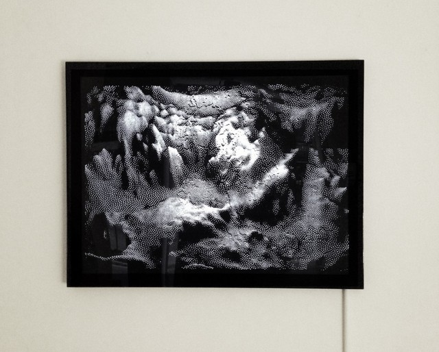 , 'Black Landform,' 2014, Muriel Guépin Gallery