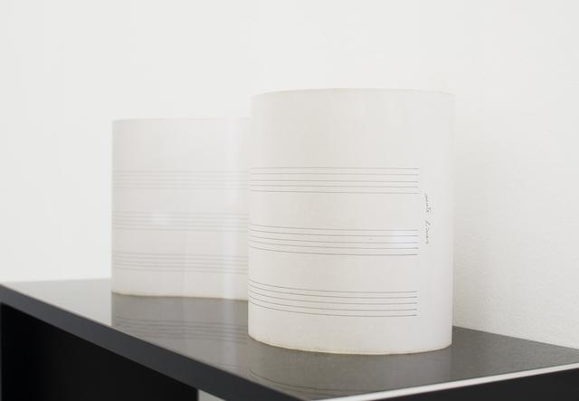 , 'Mute lines,' 2018, MATÈRIA