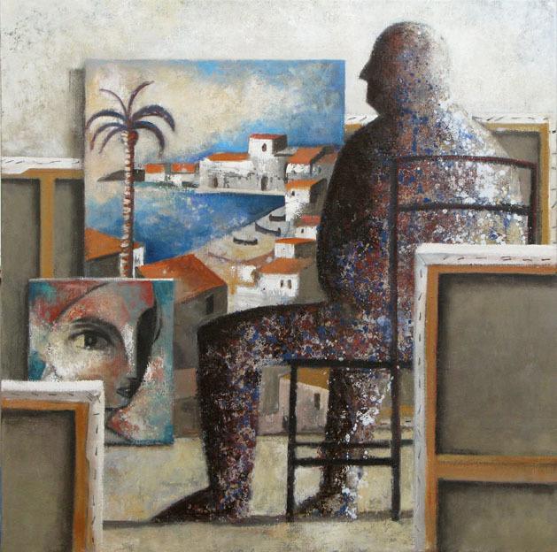 , 'Pintor de Colors,' 2009, GALERIA JORDI BARNADAS