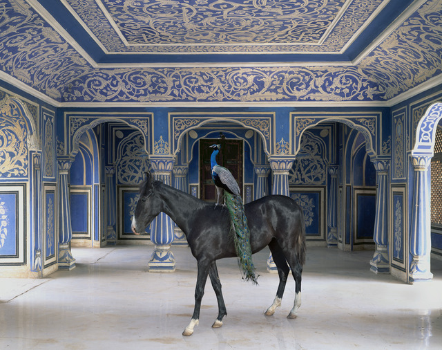 ", 'Sikanders Entrance, Chandra Mahal, Jaipur City. From the series ""India Song"",' , Danziger Gallery"