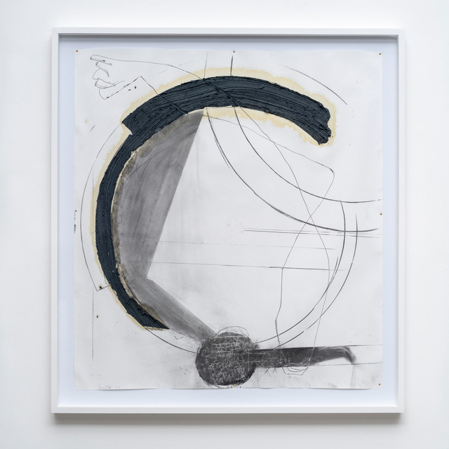 Nuno Ramos, 'Antígona (Thoughts of Dust) 20', 2018, Drawing, Collage or other Work on Paper, Charcoal, graphite, oil, wax and vaseline on paper, Fortes D'Aloia & Gabriel