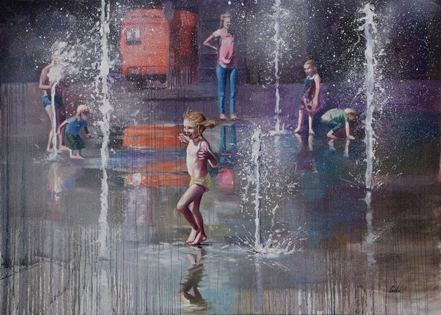 , 'Trick Fountains III,' 2019, Galerie Barbara von Stechow
