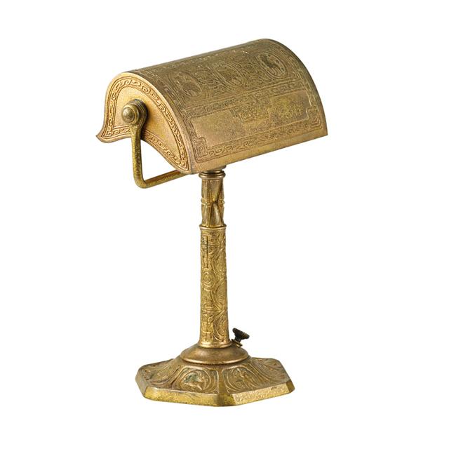 Tiffany Studios, 'Zodiac Desk Lamp, New York', Early 20th C., Rago/Wright
