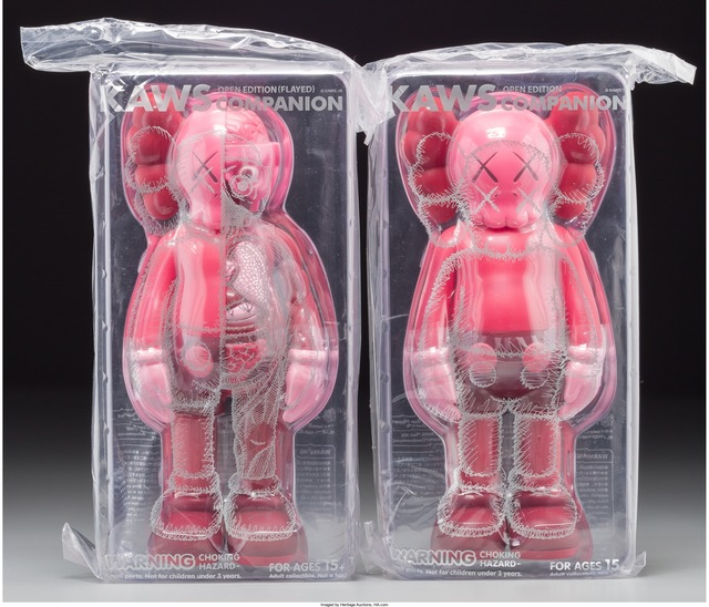 KAWS, 'Companion (Blush) (two works)', 2016, Heritage Auctions