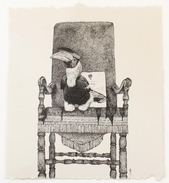 , 'Hornbill,' 2018, Saskia Fernando Gallery