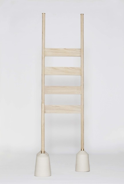 Anne Dorthe Vester & Maria Bruun, 'Objects of Use *Object no. 6', 2014, Design/Decorative Art, Oak, Ceramics, Brass, Etage Projects