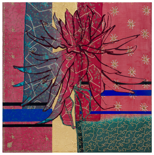 , 'Large Red Dahlia,' 2017, DC Moore Gallery