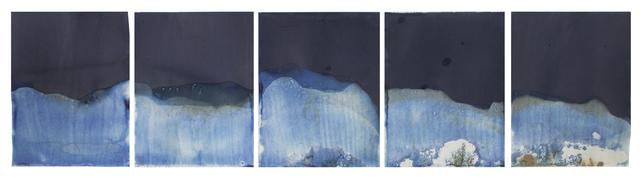 , 'Muybridge Tides #05 (Rapidly Submerged Paper, Lake Lanier, GA 08.25.17),' 2017, Jackson Fine Art