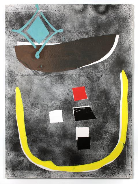 Erin Morrison, 'Land, Ho!', 2013, Painting, Oil, ink & silk on Plaster over Burlap, Shout Arthub & Gallery