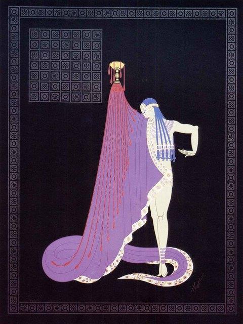 Erté (Romain de Tirtoff), 'The Slave ', 1983, Martin Lawrence Galleries