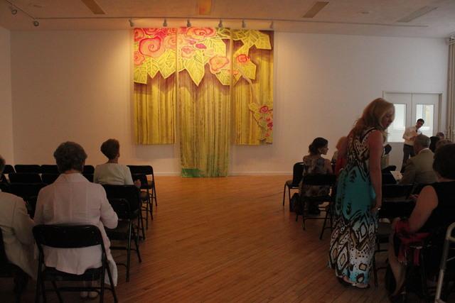 Dianne Koppisch Hricko, 'Wedding Kimono', 2012, Textile Arts, Hand painted and wax resist on silk broad cloth, InLiquid