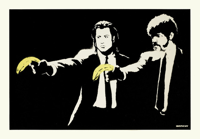 Banksy, 'Pulp Fiction (Unsigned)', 2004, Prescription Art