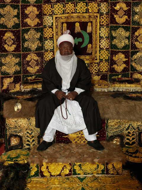 , 'HRM Alhaji Abdulmumini Kabir Usman, The Emir of Katsina,' 2012, TAFETA