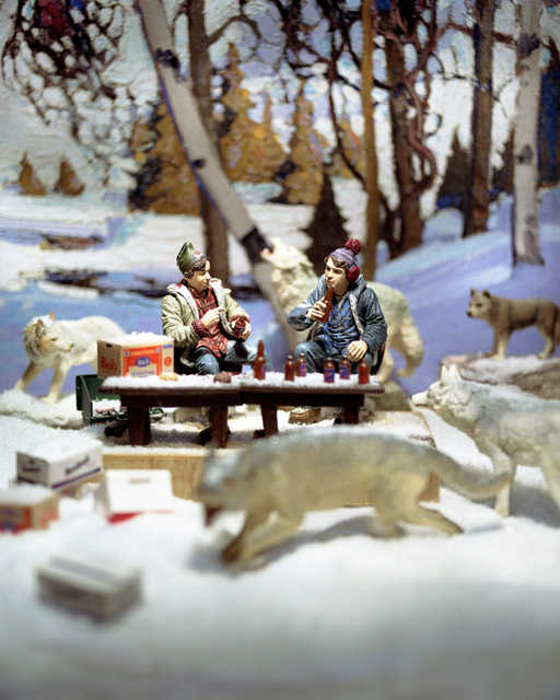 Diana Thorneycroft, 'Group of Seven Awkward Moments (Early Snow with Bob an Doug)', 2005, Art Mûr