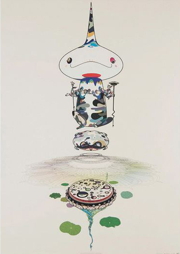 Takashi Murakami, 'Reversed Doubled Helix', 2005, uJung Art Center