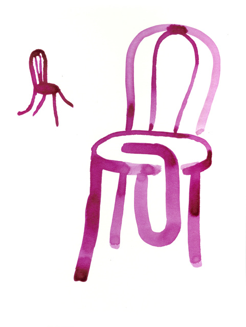 , 'Pink Chairs,' , Bluerider ART