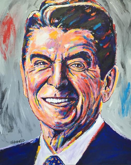 , 'Presidential Portrait Series: Reagan,' 2016, Artist's Proof