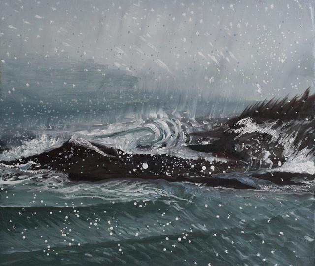 , 'Kettle Island Waves,' 2015, Gallery NAGA