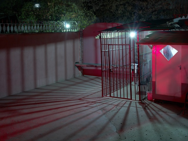 , 'The Entrance To A Small, Western Backed NGO,' 2010, Benrubi Gallery