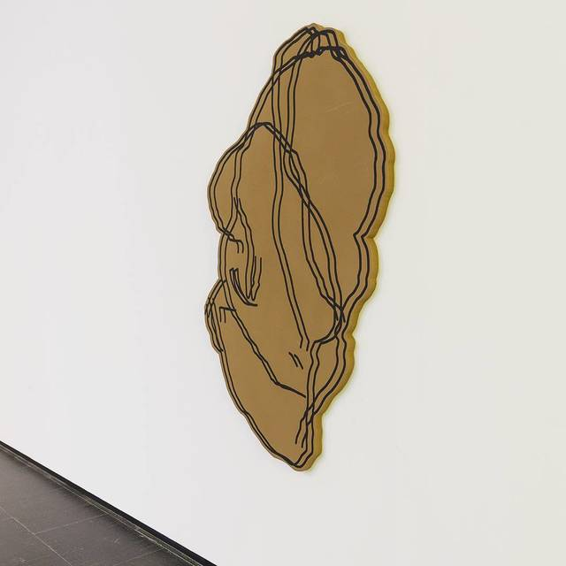 , 'Muro Lubricán. Figura,' 2018, Galería Heinrich Ehrhardt