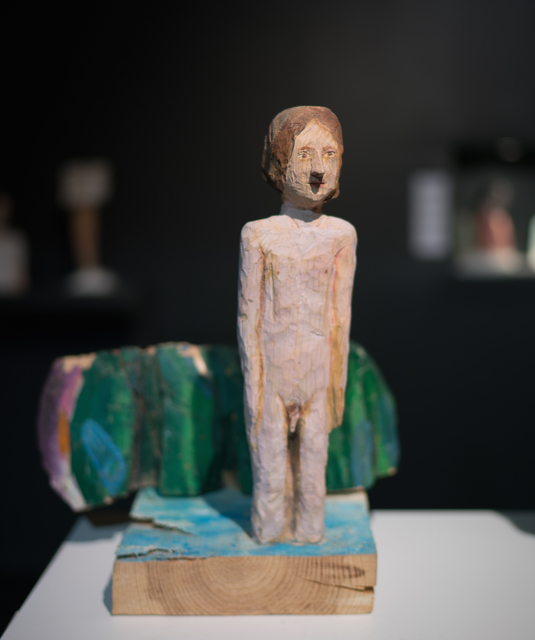 Iván Cantos-Figuerola, 'En el río', 2017, Sculpture, Painted wood, Galerie Ariane C-Y