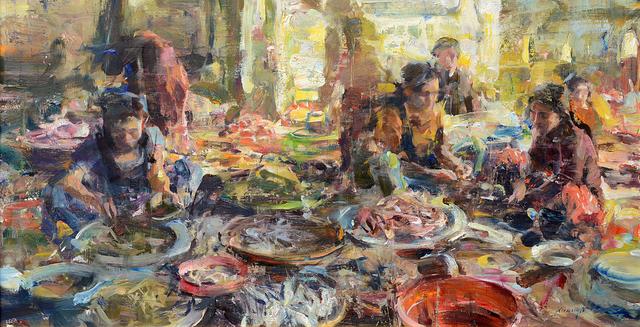 Quang Ho, 'Fish Market Chaos', 2014, Gallery 1261