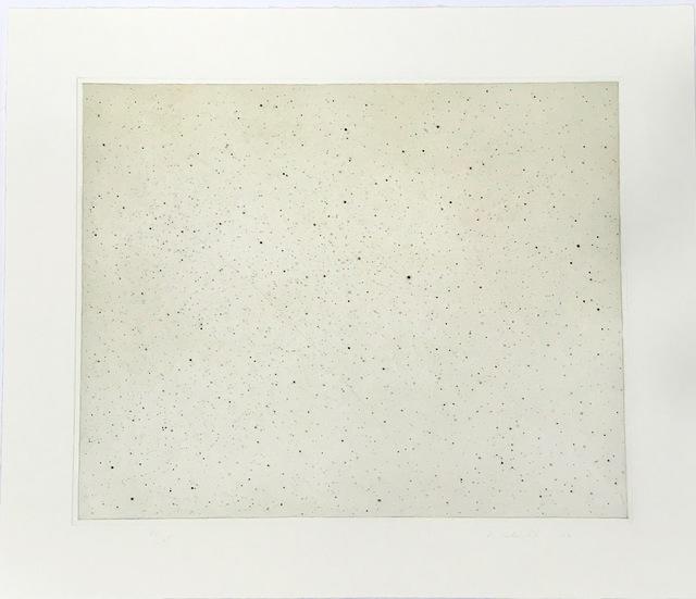 Vija Celmins, 'Night Sky I Reversed', 2002, Print, Photogravure/aquatint/photo etching/drypoint, inde/jacobs