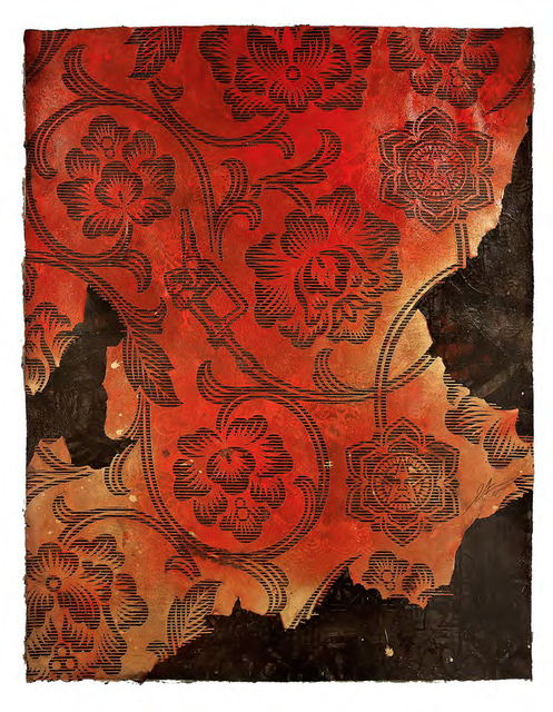 , 'Floral Gas Pattern,' 2015, StolenSpace Gallery