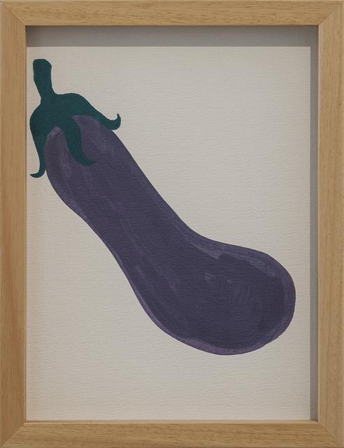 , 'Untitled Fruits (Aubergine),' 2018, Galerist