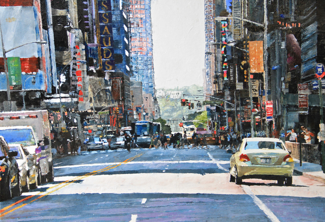 , 'Ref 965 NYC-5 (W. 42nd Street NYC) ,' , Galerie Olivier Waltman | Waltman Ortega Fine Art