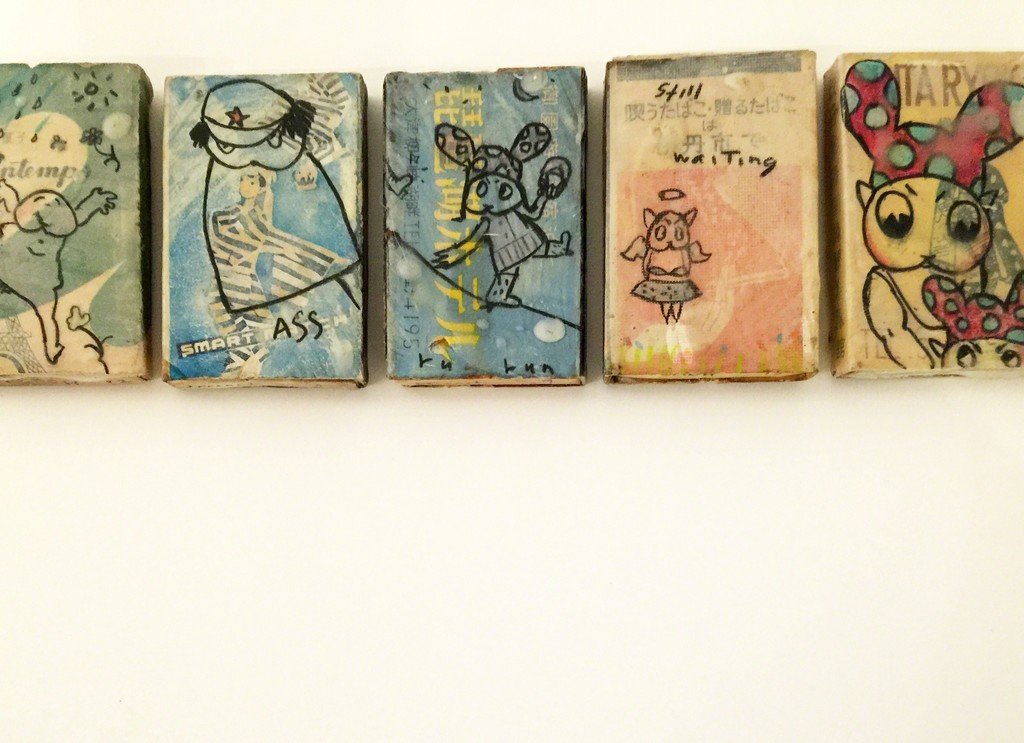 Sally French: Little Rascals (vintage matchboxes)