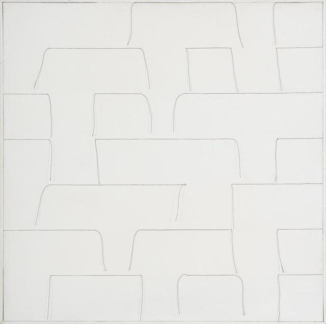 , 'Linhas entretela,' 1975, Ronie Mesquita Galeria