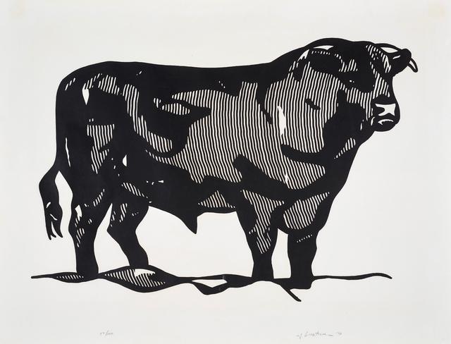 Roy Lichtenstein, 'Bull I from Bull Profile Series', 1973, Phillips