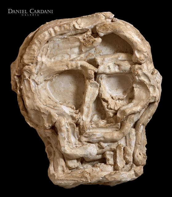 , 'Skull Mask I,' 2014, Galería Daniel Cardani