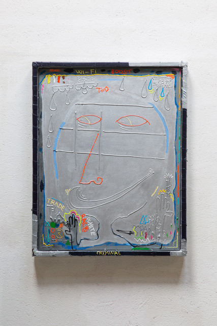 Julius Reichel, 'Cryminal Wi- Fi Boost ', White Pearl Gallery