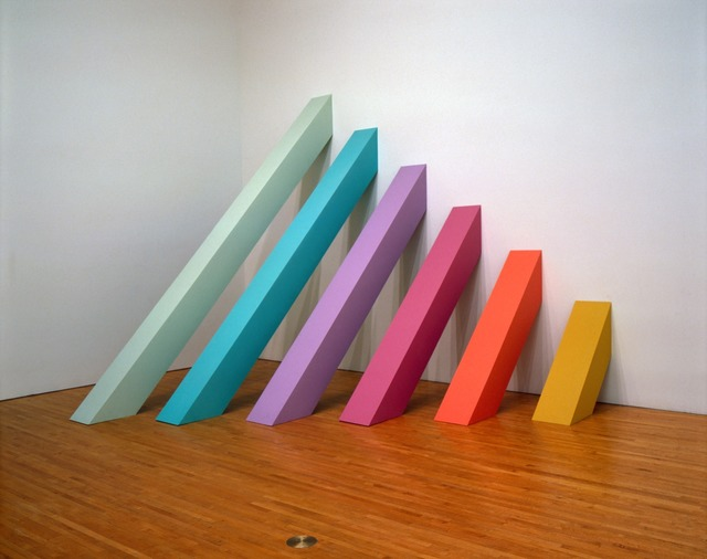 Judy Chicago, 'Rainbow Pickett,' 1964 (recreated 2004), Judy Chicago Studio